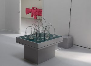 Glasbord 2010, lydinstallation, Den Gyldne i Janusbygningen Tistrup